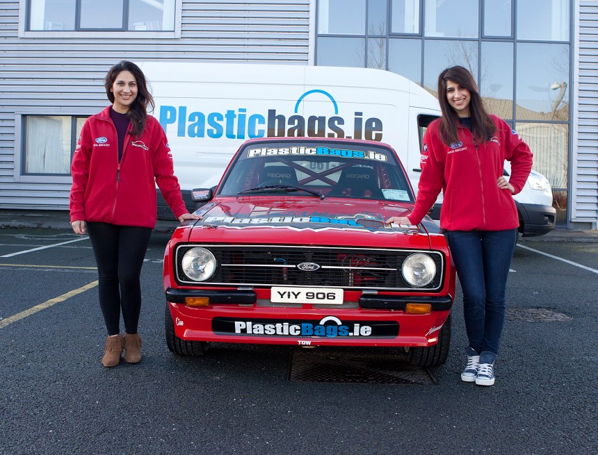 Plasticbags.ie 2016 Launch. Motorsport.ie