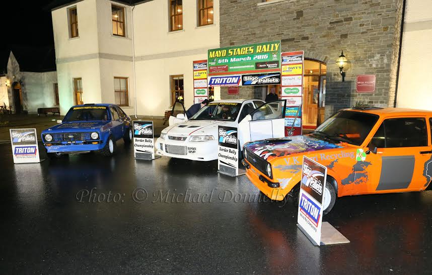 Mayo Stages Rally Launch at Hotel Ballina