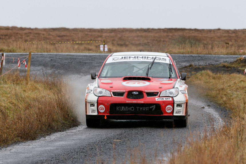 Garry Jennings & Rory Kennedy dominated. Pic James Burke