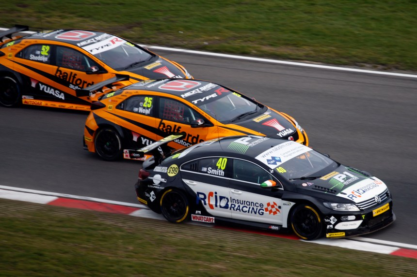 AronSmith has already visited the podium on a number of occasions this year- can he return to the top step at Thruxton?