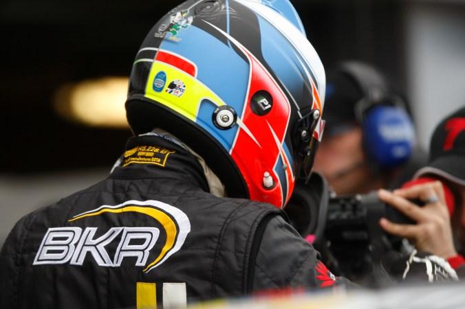 Aron Smith scored another podium for BKR