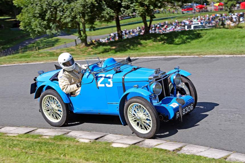 Chris Chadman, 1931 746cc Supercharged, MG C Type