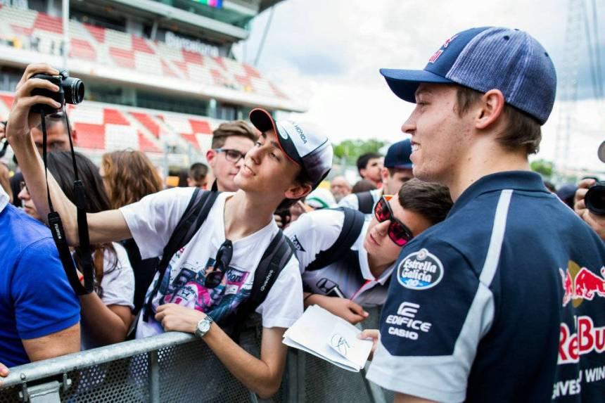 Daniil Kvyat Spanish GP FP