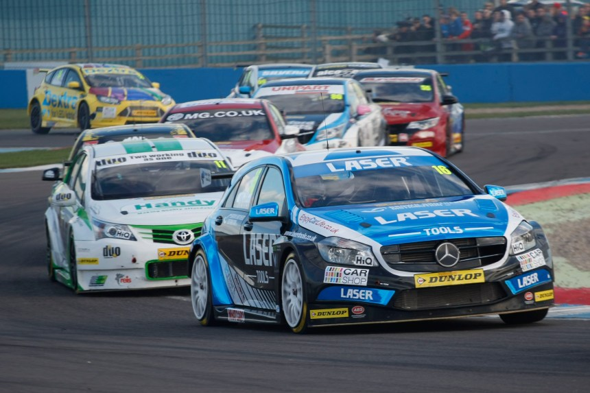 Aiden Moffat (GBR) Laser Tools Racing Mercedes A-Class