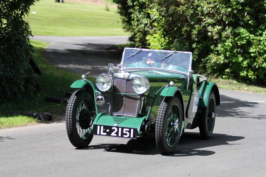Simon Johnson, 1933 847cc, MG J2