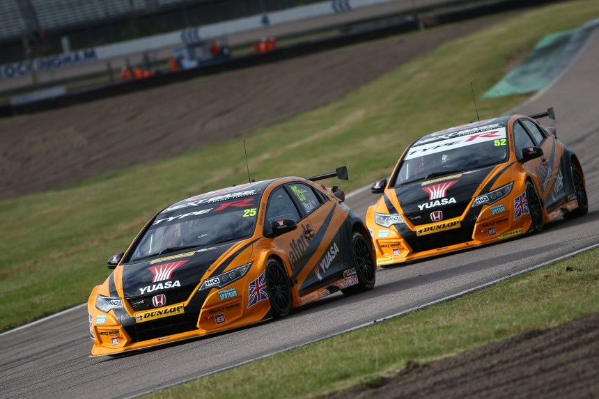 Matt Neal (GBR) Halfords Yuasa Racing, Honda Civic Type R