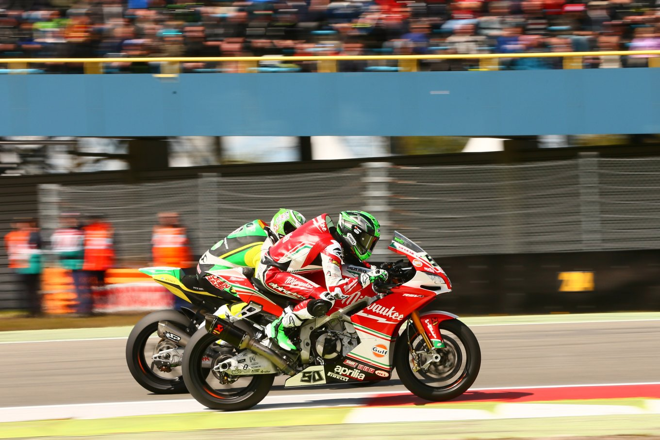 Eugene Laverty Aprilia