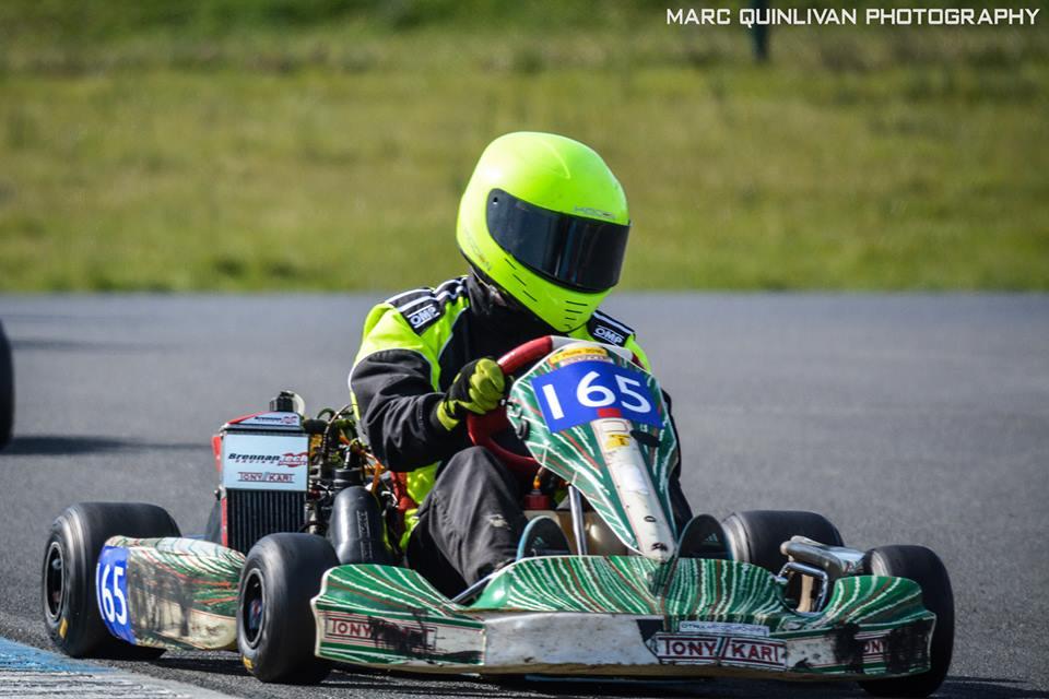 Rory Lynch, Rotax 165
