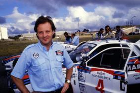 Massimo Miki Biasion (ITA) Tiziano Siviero (ITA) Lancia Rally 037 GrB Lancia Martini