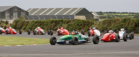 Roe Leads Kirkistown. Bourne Photographic
