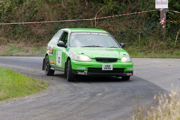 First IMC junior Crew Barry Archer Killian Cronin honda Civic