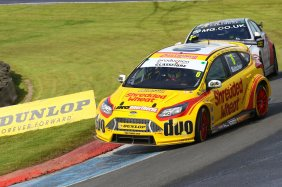 Rory Butcher (GBR) Team Shredded Wheat Racing with Duo Ford Focus