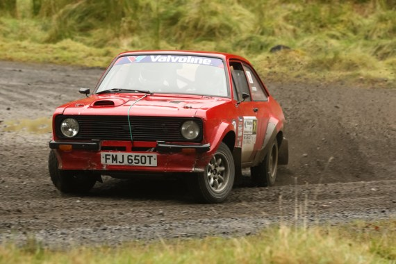 David Crossen - Valvoline Motorsport Ireland National Forest Rally 2 Wheel Drive Champions 2017 in his Ford Escort Mark 2