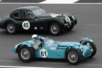 Silverstone Classic 28-30 July 2017 At the Home of British Motorsport RAC Woodcote TRophy for Pre 56 Sportscars WILSON Richard, PILKINGTON Richard, Talbot Lago T26 Free for editorial use only Photo credit – JEP