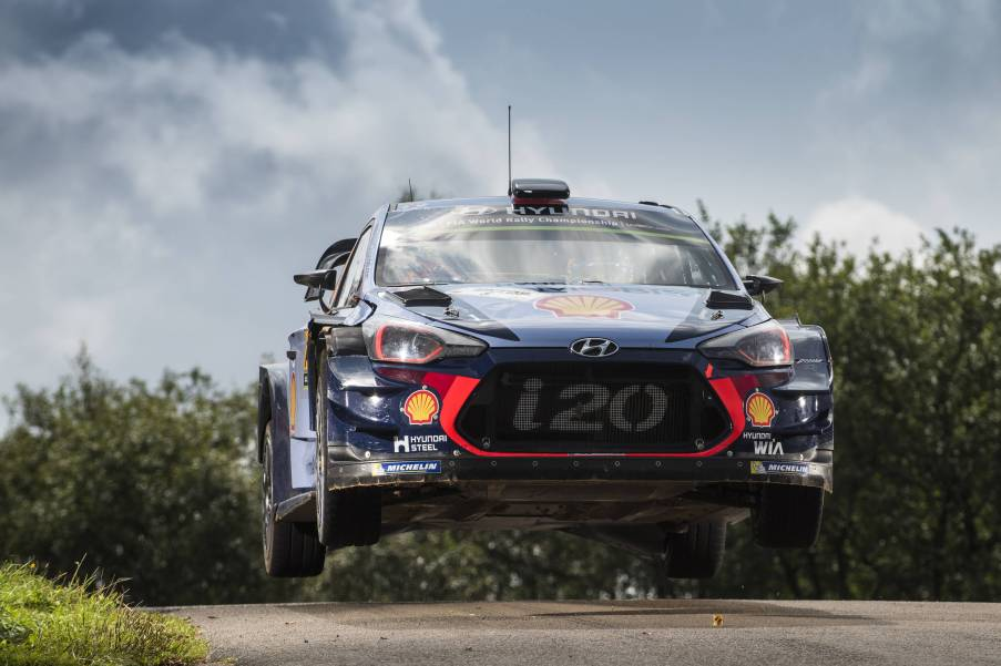Is Thierry Neuville flying a towards a first WRC crown