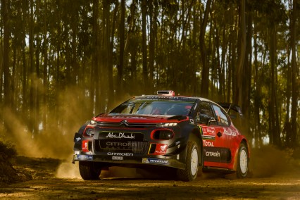 2017 FIA World Rally Championship, Round 06, Rally Portugal, May 18 - 21 2017, Kris Meeke, Citroen, action, Worldwide Copyright: McKlein/LAT