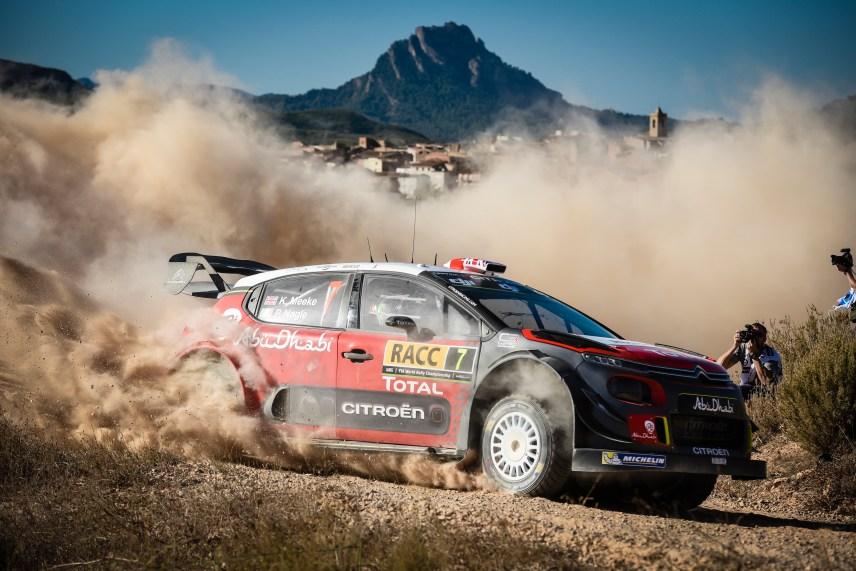 2017 FIA World Rally Championship, Round 11, Rally RACC Catalunya / Rally de España, 5-8 October, 2017, Kris Meeke, Citroen, action, Worldwide Copyright: LAT/McKlein