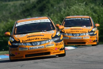 Gordon Shedden (GBR), Team Halfords, Honda Civic