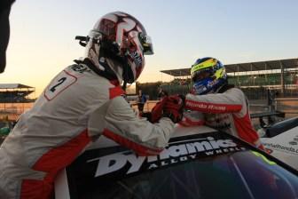 Matt Neal (GBR) Honda Racing Honda Civic and Gordon Shedden (GBR) Honda Racing Honda Civic