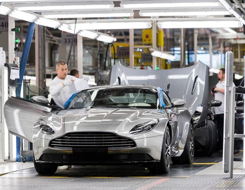 Aston Martin Gaydon manufacturing_1