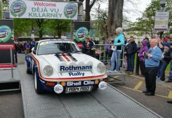 John's Porsche
