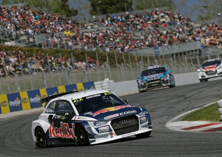 Mattias Ekström (Audi S1 EKS RX quattro #1)
