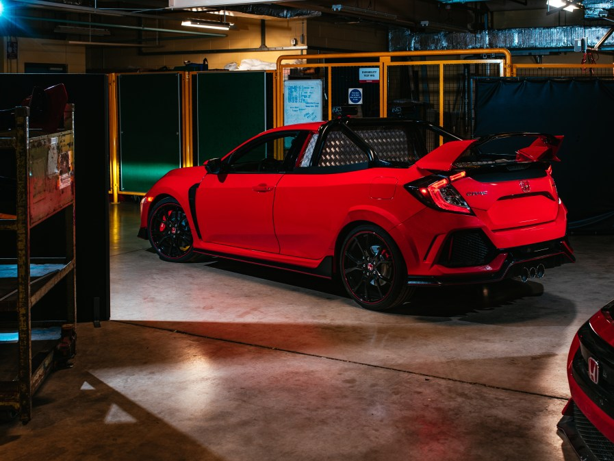 Civic Type R Pickup Truck concept 2