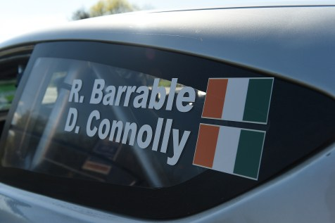 6 May 2018; during Day Two of the 2018 Cartell.ie Rally of the Lakes, at Special Stage /, Killarney, Co Kerry.