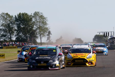 BTCC Lloyd Leads