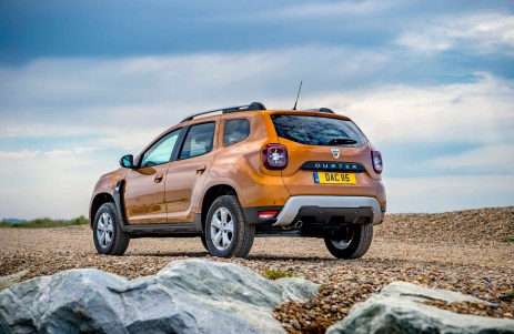 new Dacia Duster d
