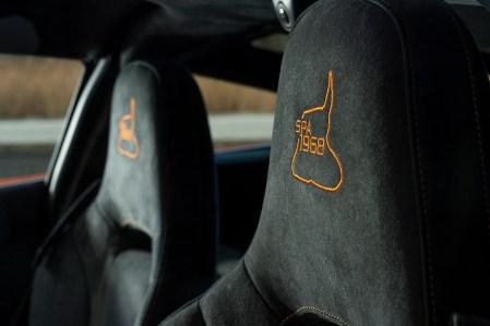 McLaren 720S Spa 68 Collection_track layout headrest