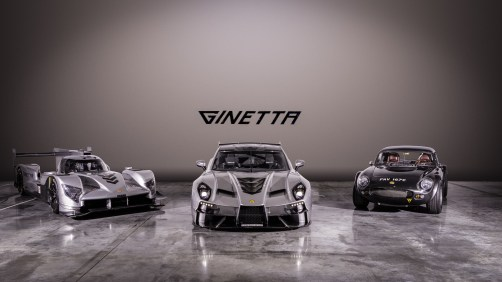 New Ginetta supercar with 1965 Ginetta G10 and 2019 Ginetta LMP1