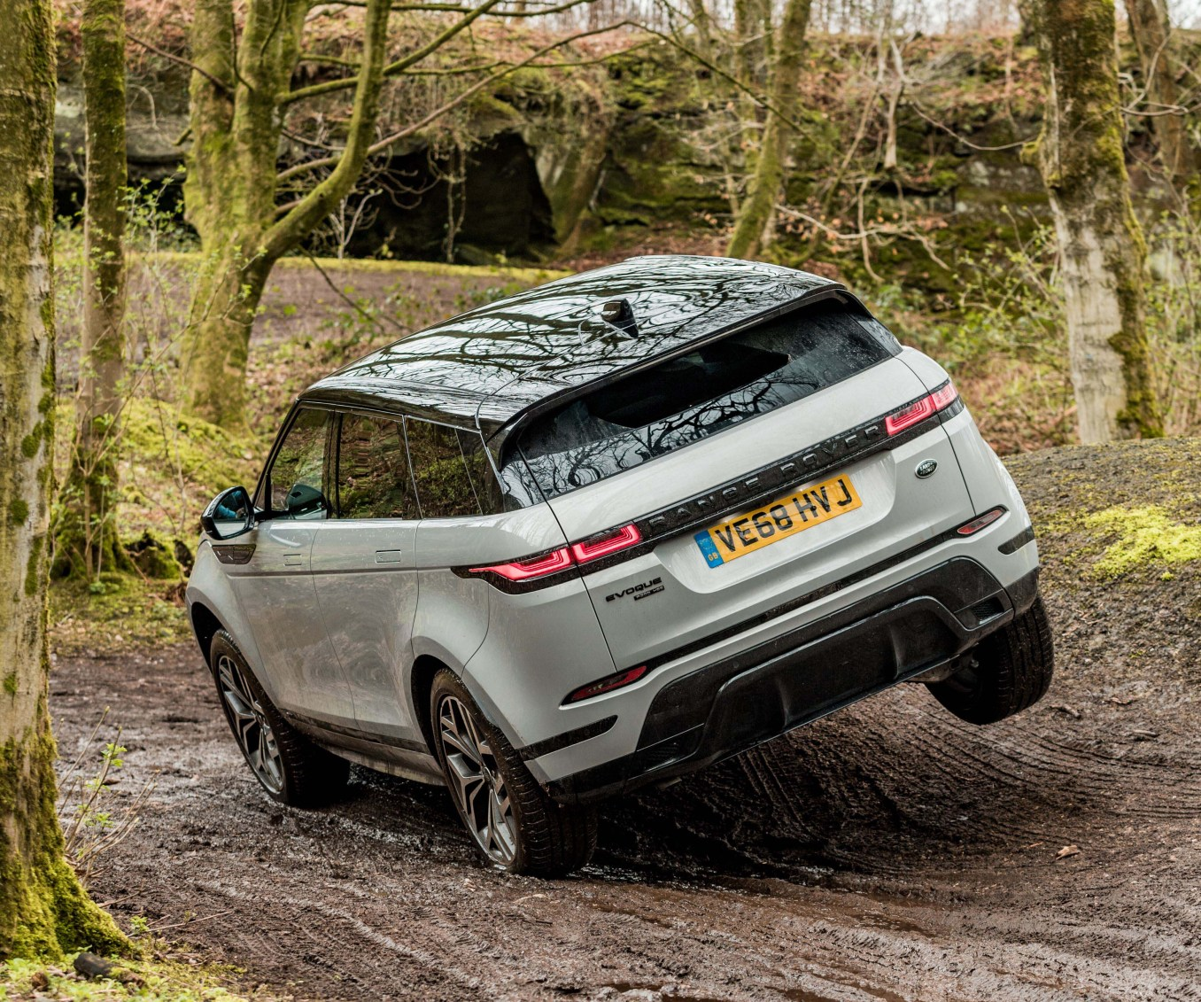 new Range Rover Evoque e