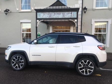 Jeep Compass Walter Raleigh Hotel2