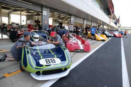 Revving up for the 2019 Silverstone Classic 1