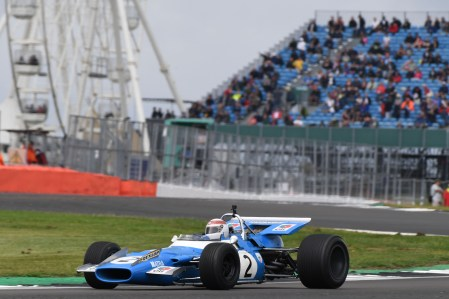 Sir Jackie Stewart celebrates 50 years since his first British Grand Prix win at the 2019 Silverstone Classic 2