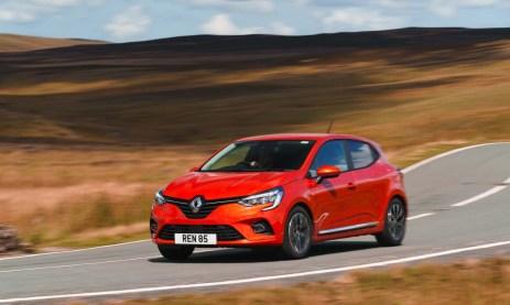 new Renault Clio e