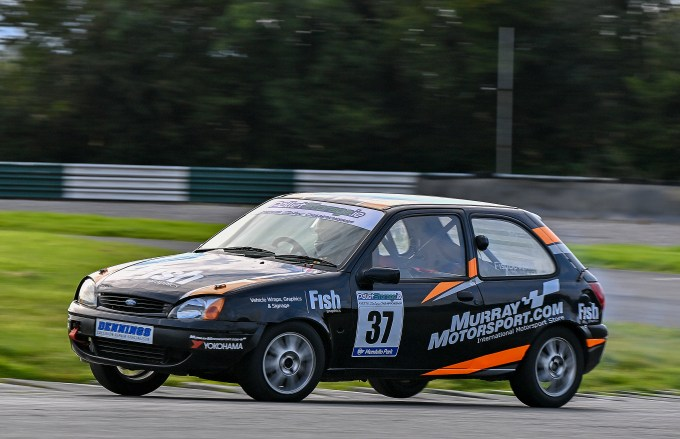 Ian Fishbourne made his class debut in one of the Murray Motorsport cars.