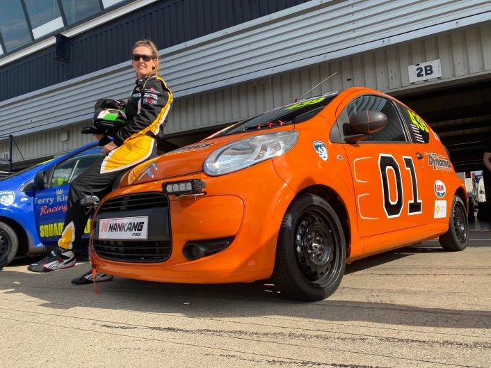 Nicole Drought Citroen C1 24 Hour Silverstone 2021