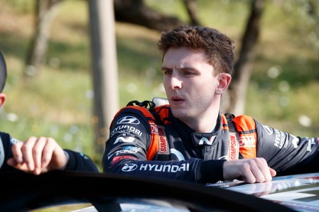 MCERLEAN Joshua (IRL), Hyundai i20 R5, Motorsport Ireland Rally Academy, portrait during the 2021 FIA ERC Rally di Roma Capitale, 3rd round of the 2021 FIA European Rally Championship, from July 23 to 25, 2021 in Roma, Italy - Photo Grégory Lenormand / DPPI