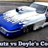 Nitrous Corvette vs Jeff Lutz at the Out of Time No Prep Series