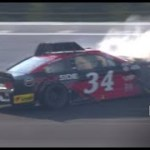 McDowell makes hard contact with the wall at Pocono | NASCAR Cup Series