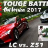 〈ENG-Sub〉峠バトル!! LEXUS LC500 vs.CORVETTE Z51【Hot-Version】2017
