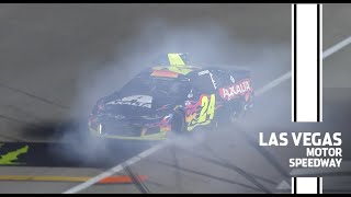 Late-race wrecks in Las Vegas | NASCAR Cup Series Extended Highlights