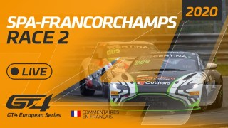 RACE 2 – GT4 EUROPEAN SERIES – SPA 2020 – FRENCH