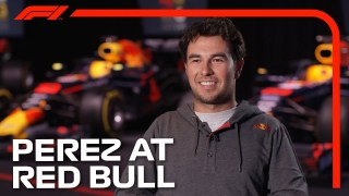 Sergio Perez's First Interview as a Red Bull Driver!