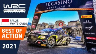 WRC – Rallye Monte-Carlo 2021: BEST OF ACTION