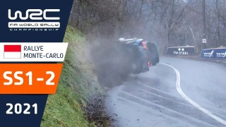 WRC – Rallye Monte-Carlo 2021: Highlights Stages 1-2