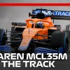 The McLaren MCL35M Hits The Track For The First Time