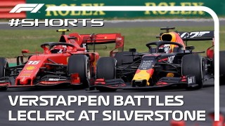 Verstappen Vs Leclerc: 2019 British Grand Prix